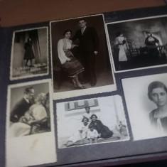 Album foto vechi 1940, poze familie, armata, teatru, peisaje, transport gratuit