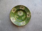 11 Farfurie veche din ceramica pentru agatat pe perete blid vechi 21 cm diam.