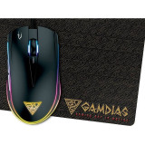 Mouse Gamdias Gaming Zeus E1 3200 DPI Black, USB, Optica