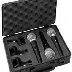 Set microfon dinamic Stage Line DM-3SET