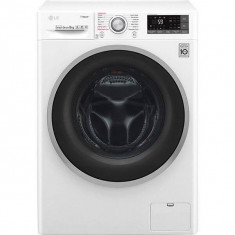 Masina de spalat rufe LG F4J7TY1W 1400rpm 8Kg A+++ Alb, 1300-1500 rpm, A+++