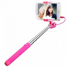 Selfie stick Mpow MBT22P Mini Pink