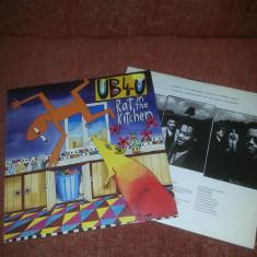 UB 40 - Rat in the kitchen, Virgin DEP 1986 GER vinil vinyl - Muzica Reggae