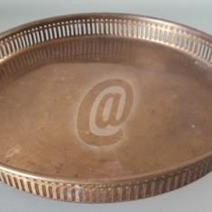 Tava vintage deosebita, 26 cm - Arta din Metal