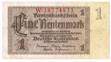 Germania bancnota 1 rentenmark mark marca 1937