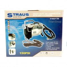 Compresor Auto Portabil 12v Straus ST/MACP-45B
