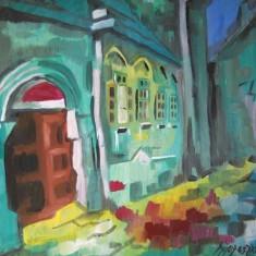 Tablouri still baimarean - Pictor roman, Peisaje, Ulei, Impresionism