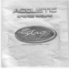 Coarda din bronz pentru chitara acustica Stagg BRW-039