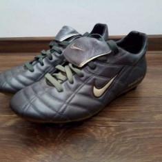 Ghete Nike originale piele. - Ghete fotbal Nike, Marime: 39, Culoare: Gri