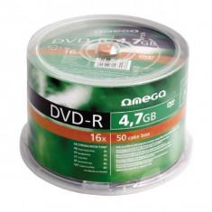 Mediu optic Omega DVD-R 4.7GB 16x 50 bucati