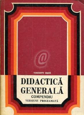 Didactica generala. Compendiu foto