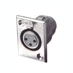 Conector mama microfon, pe cutie Sal S 25K