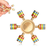 Jucarie Metalica Anti-Stres Fidget Spinner iSpin