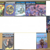 Lot carti SF brunner aldani doando rinonapoli villiers ornella mercenarul - Carte SF
