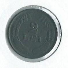 183- 2 Lei 1941 UNC!! - Moneda Romania