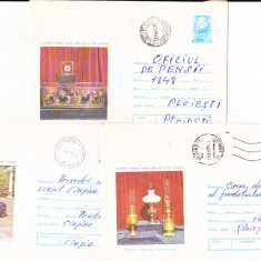 Bnk ip Lot 7 intreguri postale 1974 - circulate - Muzeul tehnic, Dupa 1950