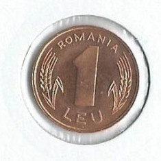 157- 1 Leu 1966 RAR UNC!! - Moneda Romania, An: 1996