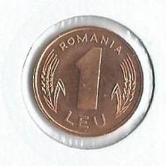 157- 1 Leu 1966 RAR UNC!! - Moneda Romania, An: 1996