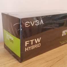 Placa Video EVGA GEFORCE GTX 1070 FTW HYBRID 8GB - Placa video PC