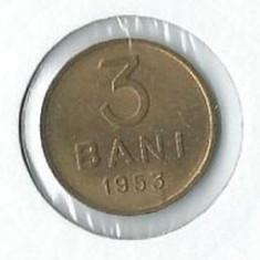 180- 3 Bani 1953 - Moneda Romania