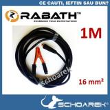 ►  Cablu pentru aparat de sudura invertor | cleste de masa |  1 metru | Cabluri
