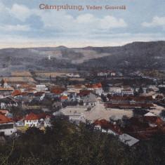 CAMPULUNG VEDERE GENERALA - Carte Postala Bucovina 1904-1918, Circulata, Printata, Campulung Moldovenesc