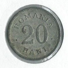 205- 20 Bani 1900 Fals De Epoca!! RAR! - Moneda Romania