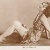Actrita Nancy Carroli, Necirculata, Printata