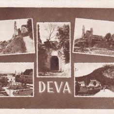 DEVA COLAJ EDITURA C. FLORESCU CRAIOVA - Carte Postala Transilvania dupa 1918, Necirculata, Printata