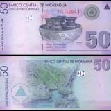 Nicaragua 2007 - 50 cordobas UNC - bancnota america