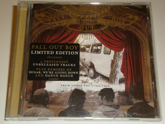 Fall Out Boy - From Under The Cork Tree CD Special Edition foto mare