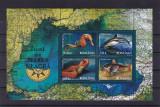 ROMANIA 2007  LP 1755 a  FAUNA DIN MAREA NEAGRA  BLOC  MNH