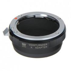 Adaptor obiective Voigtlander MFT/LEM montura Pentax K pentru aparate MicroFourThirds