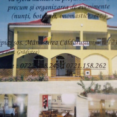 Restaurant-Pensiune Caldarusani Impex SRL - Spatiu comercial de vanzare, Etajul 2, 2000 mp, An constructie: 2010
