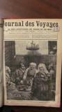 """CY - """"Ziarul Calatoriilor si al Intamplarilor de pe Mare si Uscat"""" colectia 1883"""