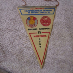 Fanion fotbal romania danemarca c 14