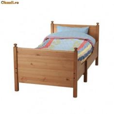 Pat copii extensibil LEKSVIK IKEA