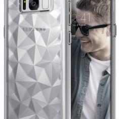 Husa Protectie Spate Ringke Prism Clear pentru Samsung Galaxy S8 Plus - Husa Telefon