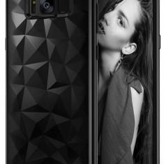 Husa Protectie Spate Ringke Prism Ink Black pentru Samsung Galaxy S8 Plus - Husa Telefon