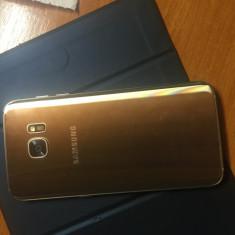Samsung s7 edge - Telefon Samsung, Auriu, 32GB, Neblocat, Dual SIM