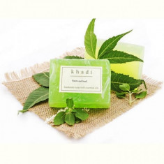 sapun natural cu neem si busuioc India - 125 g