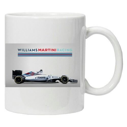 Cana personalizata WIlliams Formula 1 team, 40 Years , cana cafea, cana cadou, foto mare