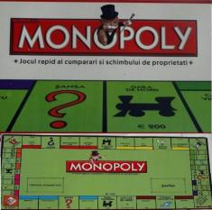 Joc Rapid Monopoly Clasic in Limba Romana foto