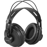 Casti Kruger&Matz Monitor Black, Casti Over Ear, Cu fir, Mufa 3, 5mm