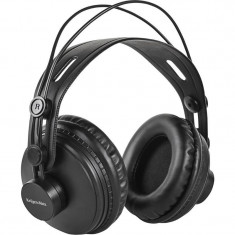 Casti Kruger&Matz Monitor Black, Casti Over Ear, Cu fir, Mufa 3, 5mm