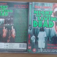 Night of the living dead - DVD [B,cd], Engleza