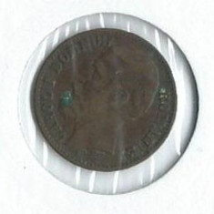 169- 2 Bani 1880 - Moneda Romania