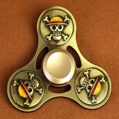 Jucarie Metalica Anti-Stres Fidget Spinner Pirat