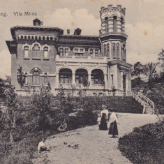 CAMPULUNG, VILA A. MIREA, CIRCULATA 1912 EDITURA J. N. STAICU CAMPULUNG - Carte Postala Muntenia 1904-1918, Printata