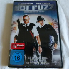 Hot Fuzz - Film actiune Altele, DVD, Engleza